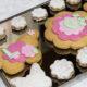 Kruche ciasteKruche ciasteczka maślane dekorowane masą cukrową 2