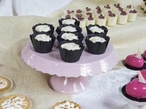 Muffiny z kremem śmietanowym